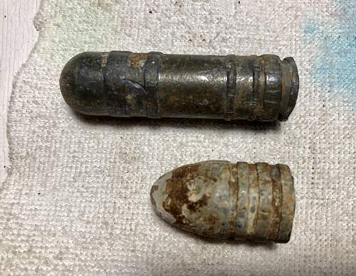 I need help to identify ammunition and cartridge cases