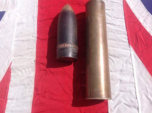 Identification help please WWI Turkish 7.5 mm shell and casing