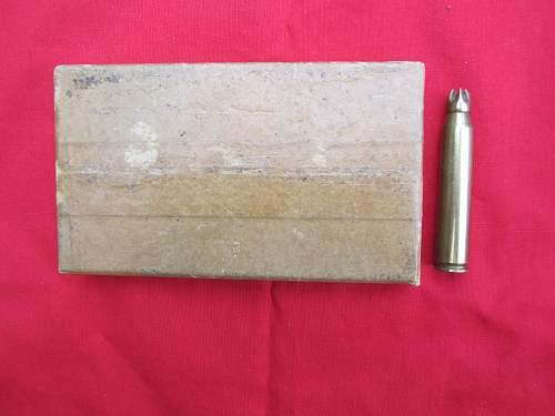 US cartridges, rifle, grenade in original boxes