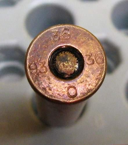 Original ammo for Dutch 6.5 carbine