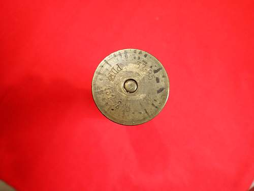 Good example of a 37 MM round for hotchkiss gun US Marked