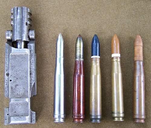 German WW2 20mm Tool Round