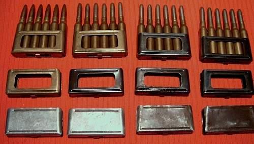 Italian clips and ammo