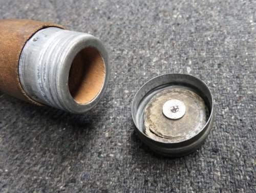 German Practice Stick Grenade