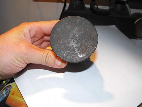 Mills bomb find