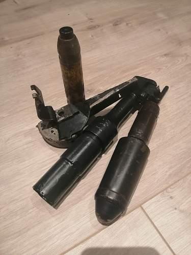 Große GewehrPanzergranate 40