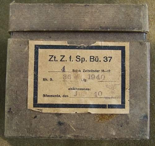 WW2 German Demo. Clock Timers