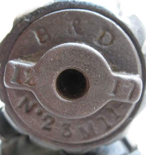 No 23 Mills Grenade