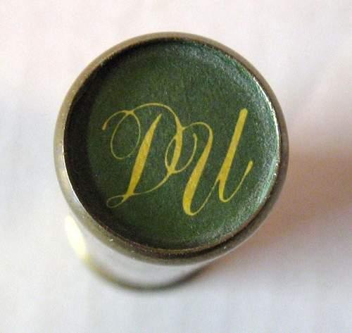 D.U. 50th anniversary brass shotshell