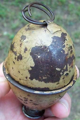 German M-39 'EGG' Grenade