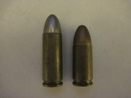 WWII German and unk ammo