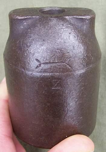 Vivian-Bessier Practice Grenade