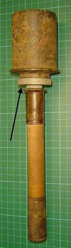 ww2 german stick grenade adaptor for flare pistol how was it used?