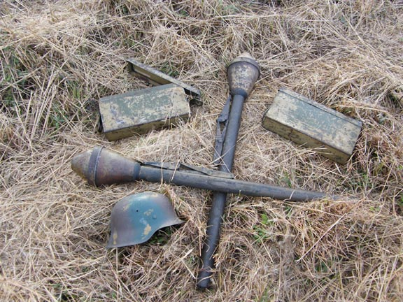 Panzerfaust 60s brought home by vet