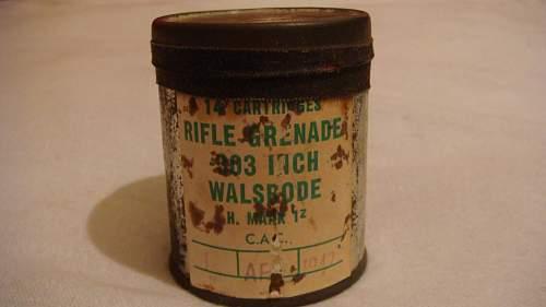 C.A.C Rifle Grenade Ammo