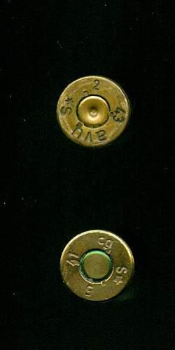 Mauser 7.92x57mm strange cartridge