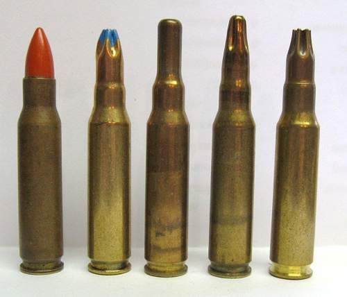 7.62x51 Blanks in M13 MG LInks.