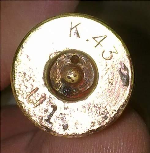15mm Besa drill round - WW2 dated - A rare beast