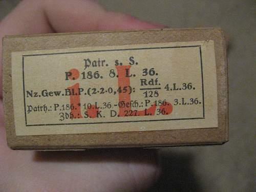 1936 German 7.92x57mm