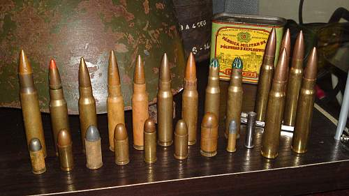 Small ammo collection