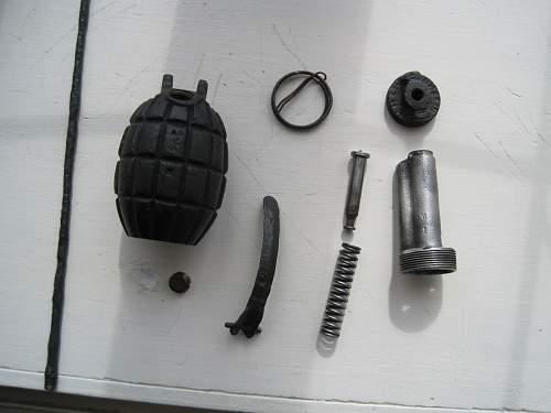 No 23 mills bomb