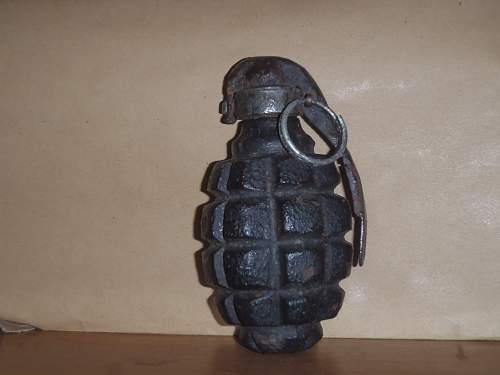 Hand grenade: Country of origin?