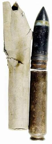 Luftwaffe 20 mm round