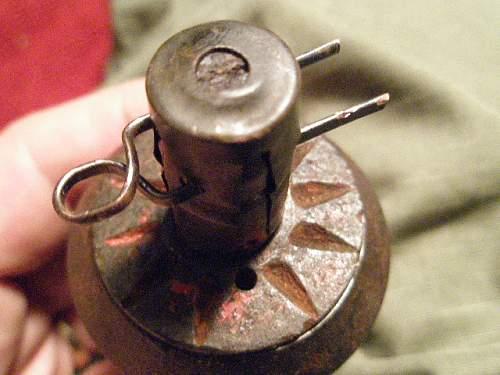 WWII Russian RG-42 grenade??