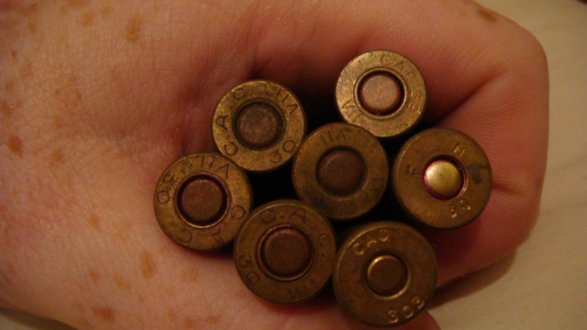 WWII Ammo and earlier  303 and ?