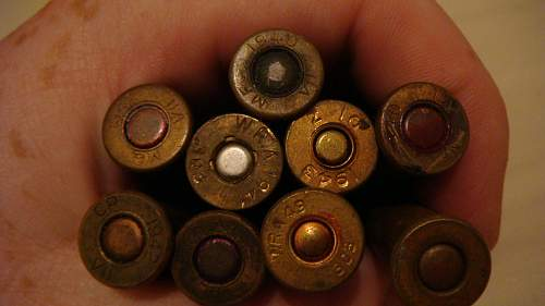 WWII Ammo and earlier. 303 and ?