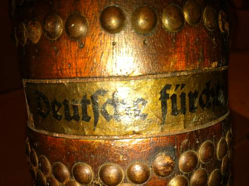 Need help with a wooden German shell