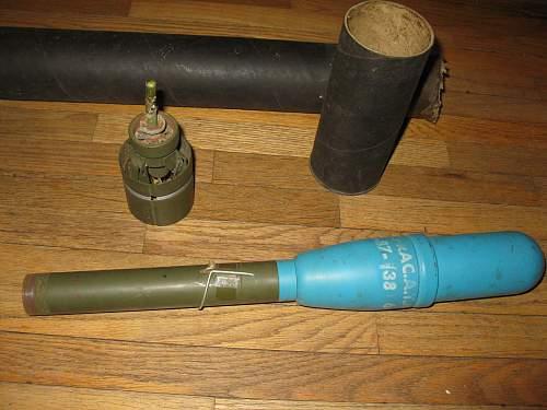 My garage sale bazooka rocket