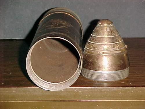 WWI 75 mm