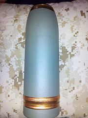 75mm Howitzer round inert