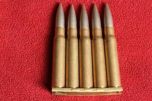 Ammunition and tracers? identification