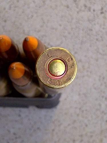 Garand ammo