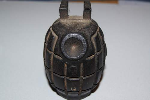 Help with this blank hand grenade id Please