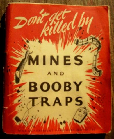 'don't be killed by mines and boobytraps