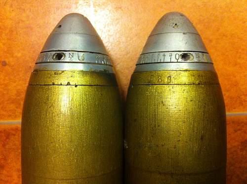 Origin of 75mm