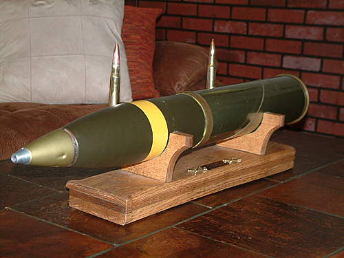 105MM Complete Round question