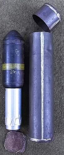 WW2 Japanese 40m/m Rifle Grenade