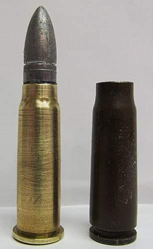 Rare 7.62x39R Cartridge