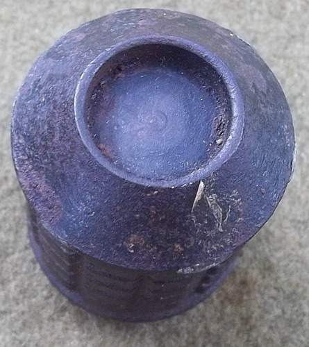 Japanese  WW2 91/97 Hand Grenade
