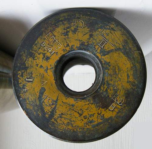 18 pounder shell case.