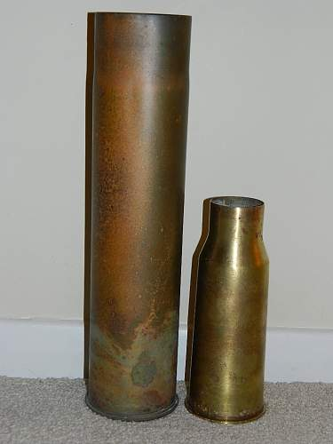 Shell Casings from Guernsey.