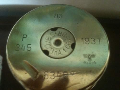 World War 2 Shell Cases