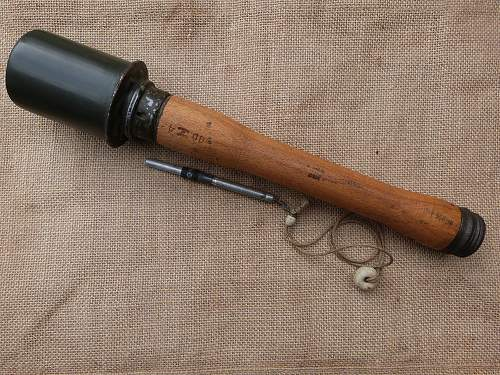 German stick grenade. What do you think?