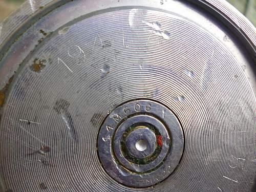 ww2 non-brass bofors shell!!!!!