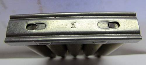 Stripper clip/charger ID