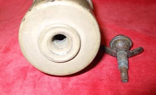 Unknown stick grenade?